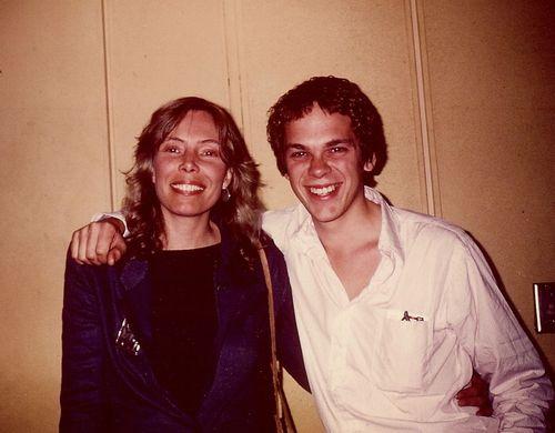 Frank and Joni circa 1979