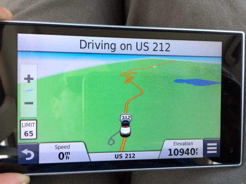Gps at peak1